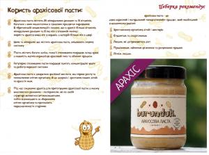 Користь арахісової пасти