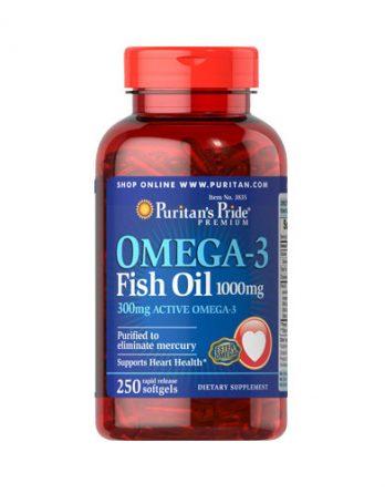 Омега-3 рыбий жир США Puritan's Pride