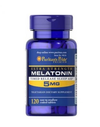 Melatonin 5mg Puritan's Pride 120 tab