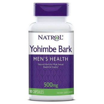 Natrol Yohimbe Bark 500мг