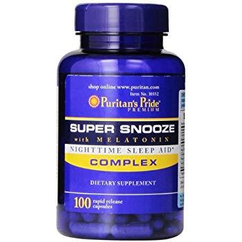 Super Snooze with Melatonin