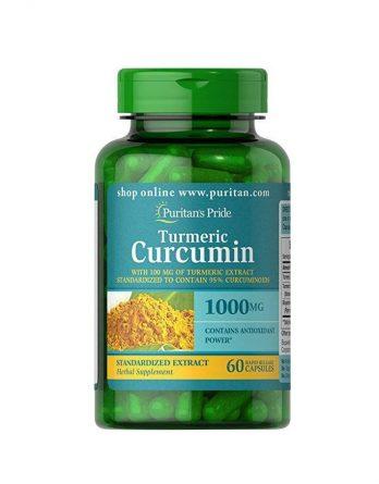 Куркумин с биоперином 60 капсул